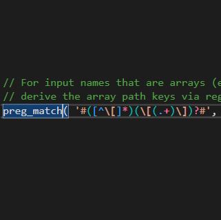 PHP RegEx Editor