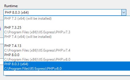 PHP Tools for Visual Studio (April 2021)