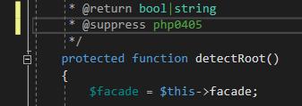 suppress PHP errors in Visual Studio