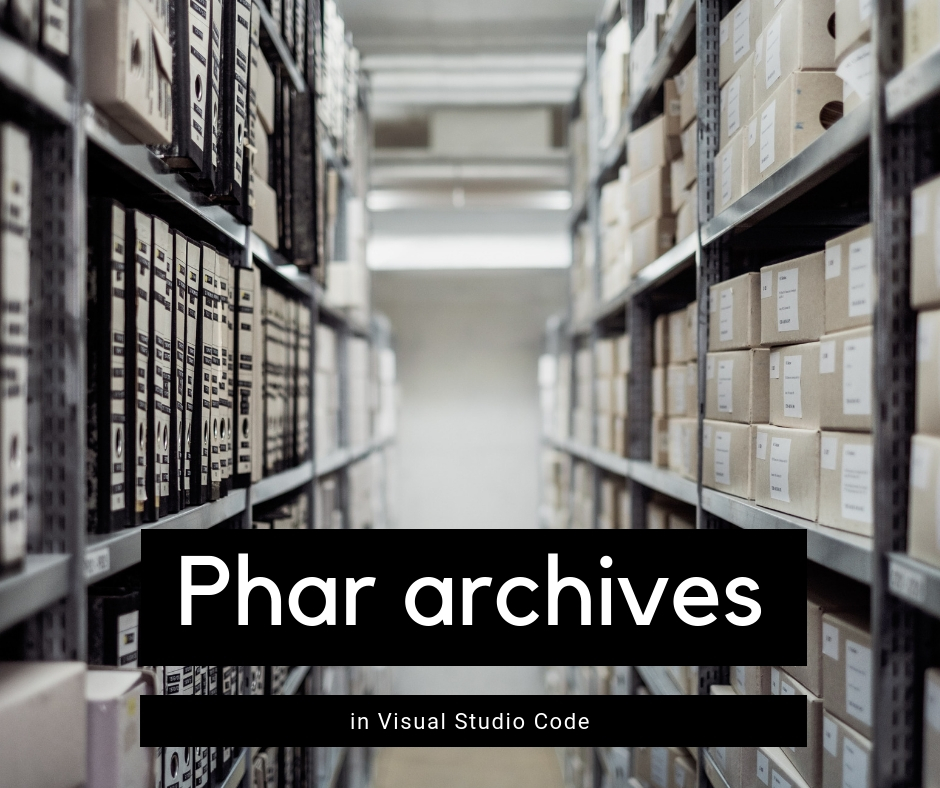 Phar archives in VS Code