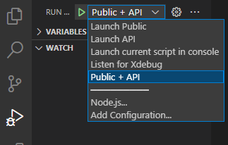 Compound Launch and Debug in VS Code
