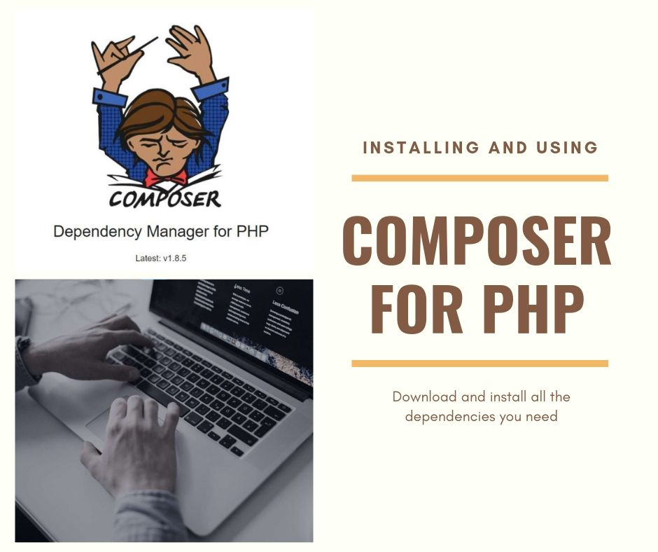 Installing and using Composer for PHP
